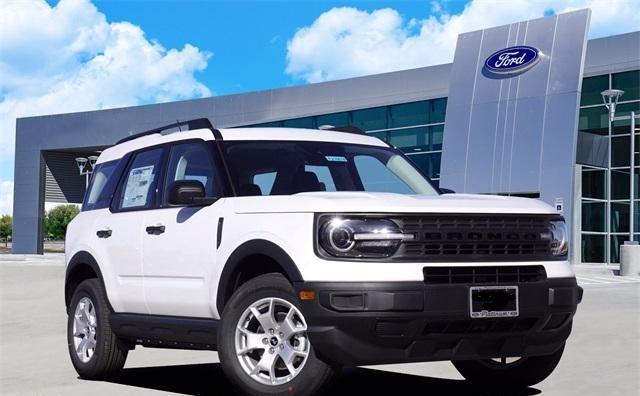 2021 White Ford Bronco Sport