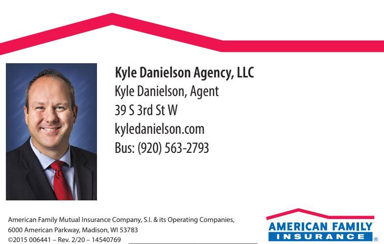 American Family Insurance, Kyle Danielson, LLC Logo
